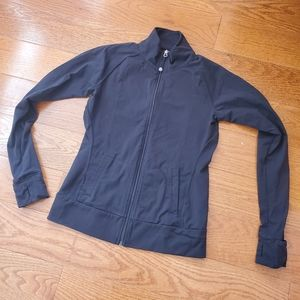 Fitted athletic jacket